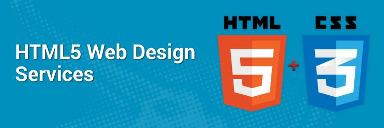 HTML5 Web Design Services